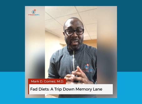 Fad Diets: A Trip Down Memory Lane