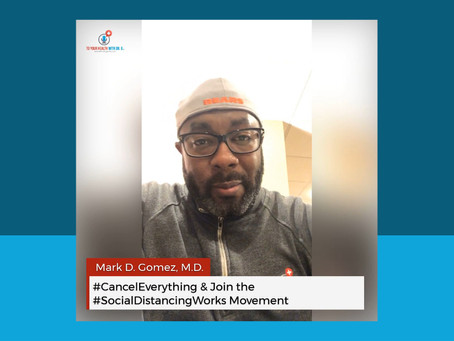 #CancelEverything & Join The #SocialDistancingWorks Movement