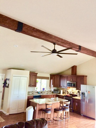 Beam and Fan Install