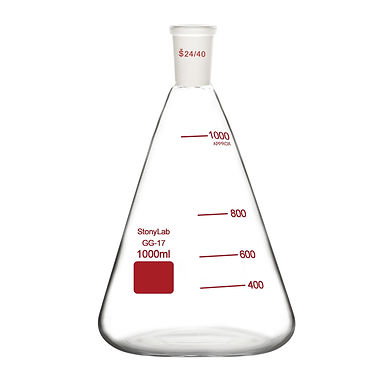 Erlenmeyer Flask, Heavy Wall Flask with 24/40 Standard Joint
