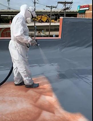 High Res - Spraying Polyurea over TPO (d