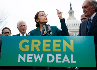 """Support The """"Green New Deal"""""""