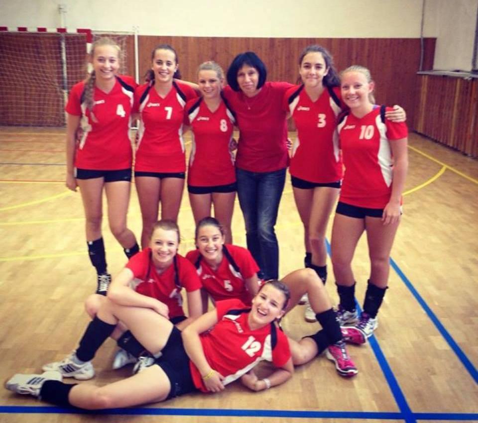 Kadetky - první zápasy - 20. 9. 2014