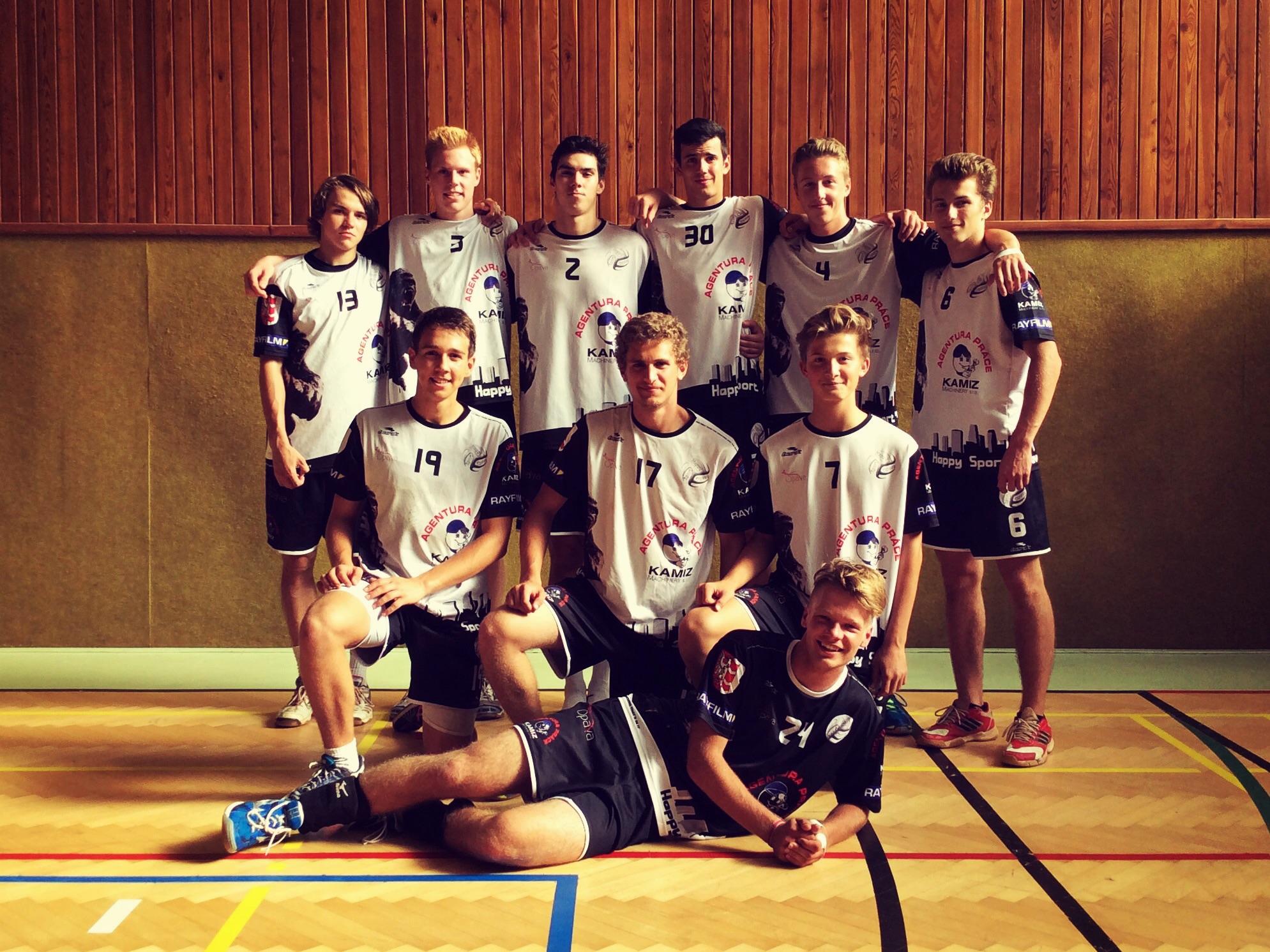 Liga juniorů, 19.9.2015 proti Znojmu
