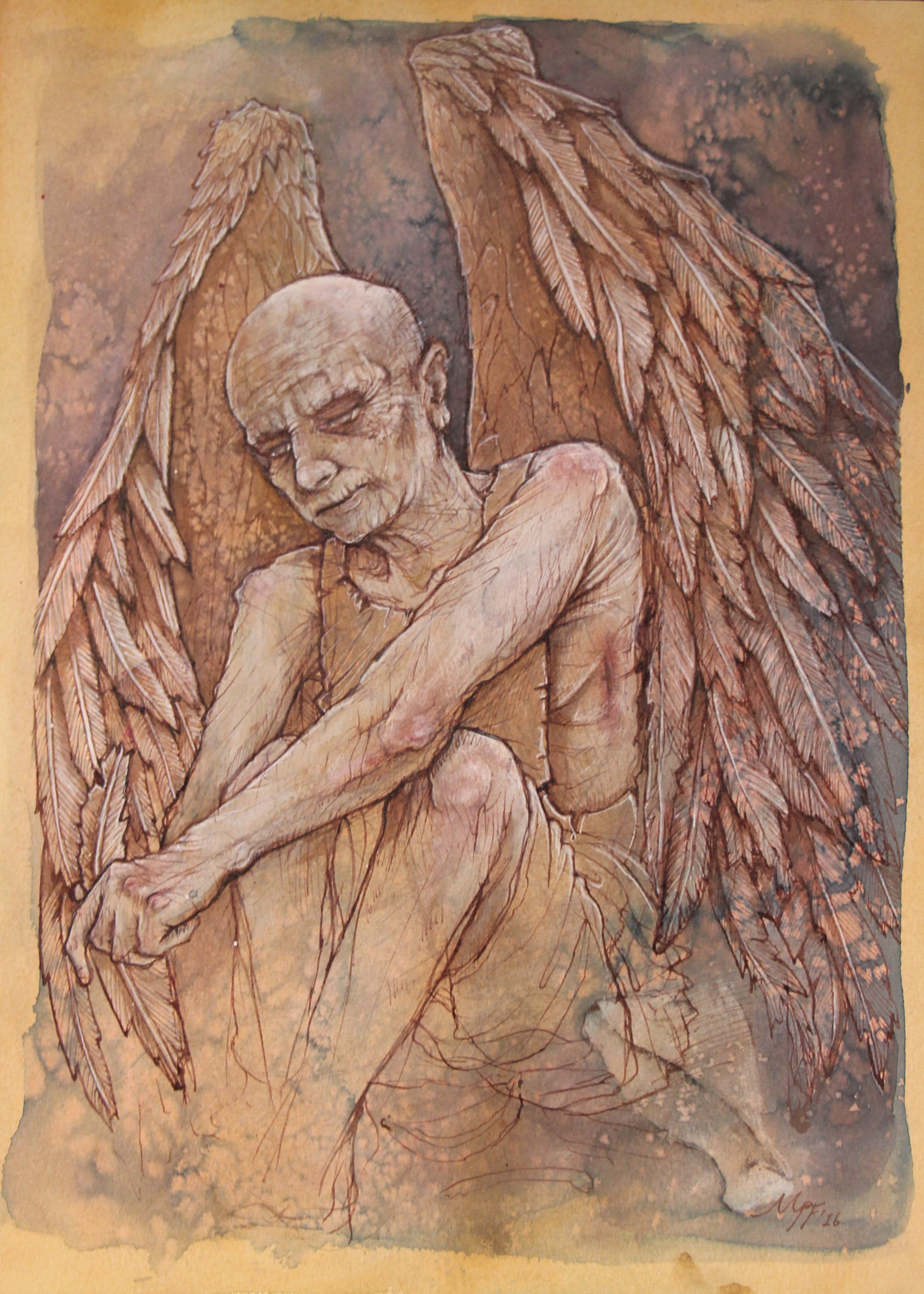 Portrait of Old Angel