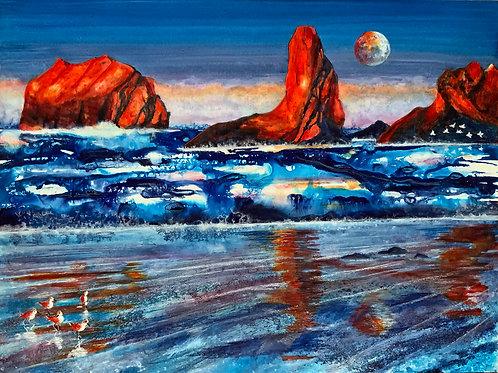 Marine Layer - Original Painting