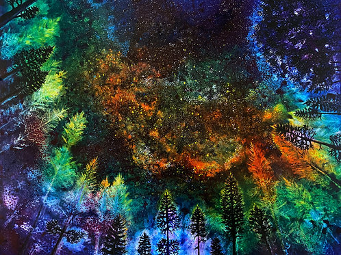 In My Sleeping Bag VI Giclee Print