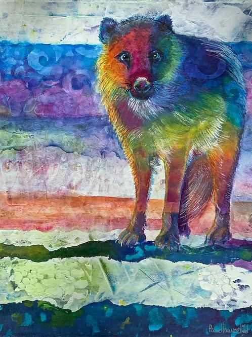 Wolf Stare - Original Painting