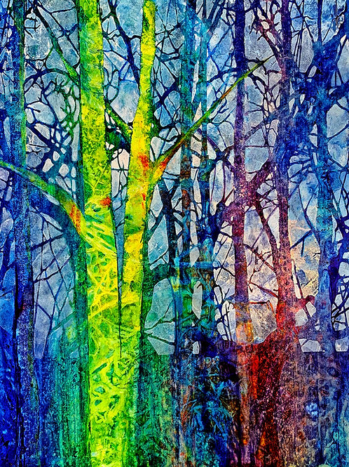 The Language of Trees V Giclee Print