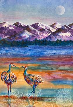 Crane Dance II