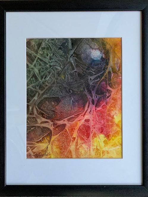 Moon Lit - Framed Original Painting