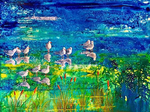 Salt Marsh - Giclee Print