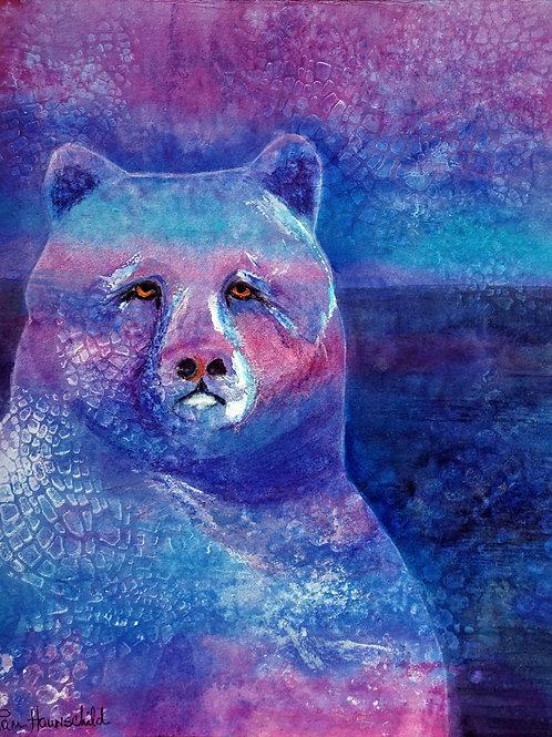 Blue Spirit Bear Giclee Print
