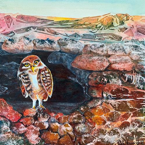 Burrowed Wisdom - Original Painting