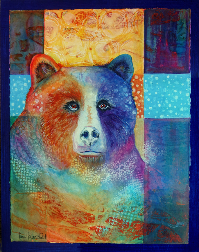 Golden Spirit Bear