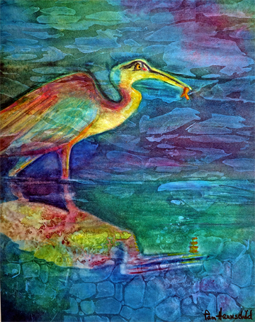 Heron Dream