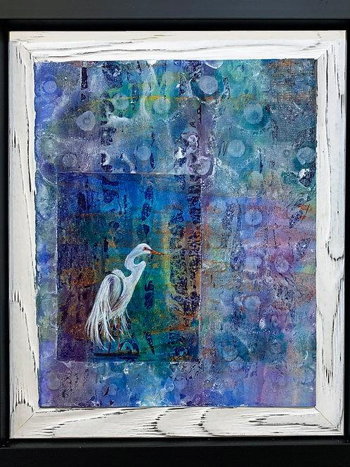 Contemplation - Framed Original Painting