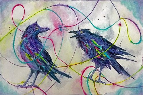 Quantum Entanglement - Giclee Print