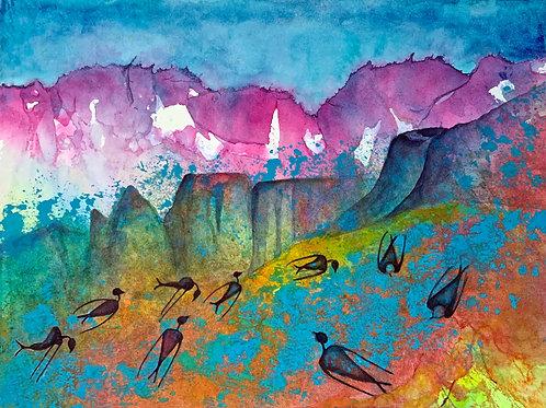 I Dream of Africa - Original Painting