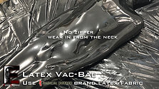 Ferubber Latex sleep bag (vac)