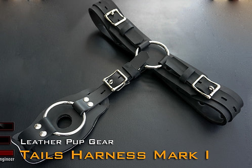 Leather-Tails Harness