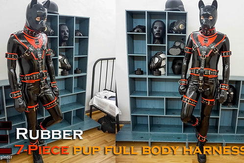 Rubber-7piece outfit
