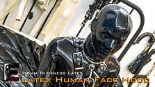 Human Face latex hood
