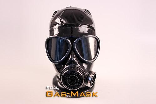 Full Latex Gasmask FMJ05