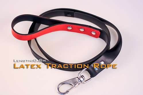 Leather Dog traction rope