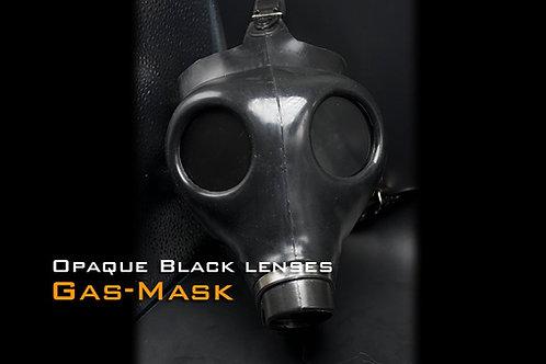 Gasmask Type I Black opaque lens