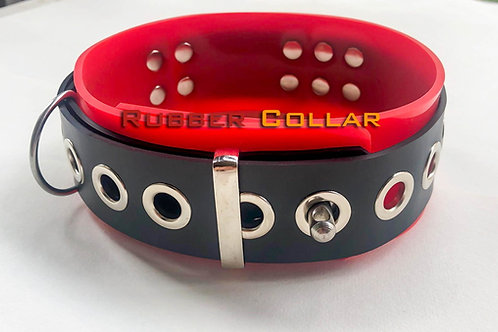 Rubber-Coller Red
