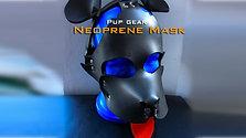 Neoprene-Dog Mask
