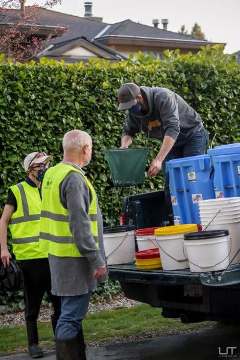 DFO Truck fry release -Malcolm Joseph ,