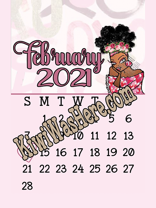 February Valentines Downloadable Tablet Wallpaper