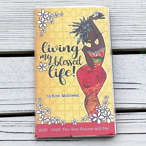 BLESSED LIFE 2021-2022 Two Year Planner