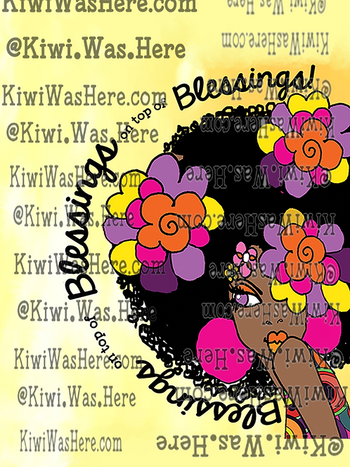 Blessings Downloadable Tablet Wallpaper