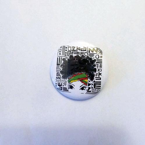 Misprint Button - $1 1.5 Inches