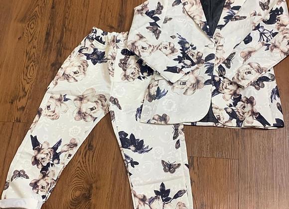 2 piece floral suit(kids)