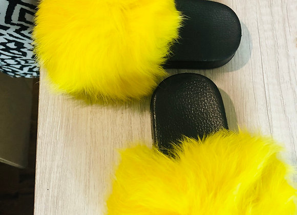 Fox fur KIDS slides