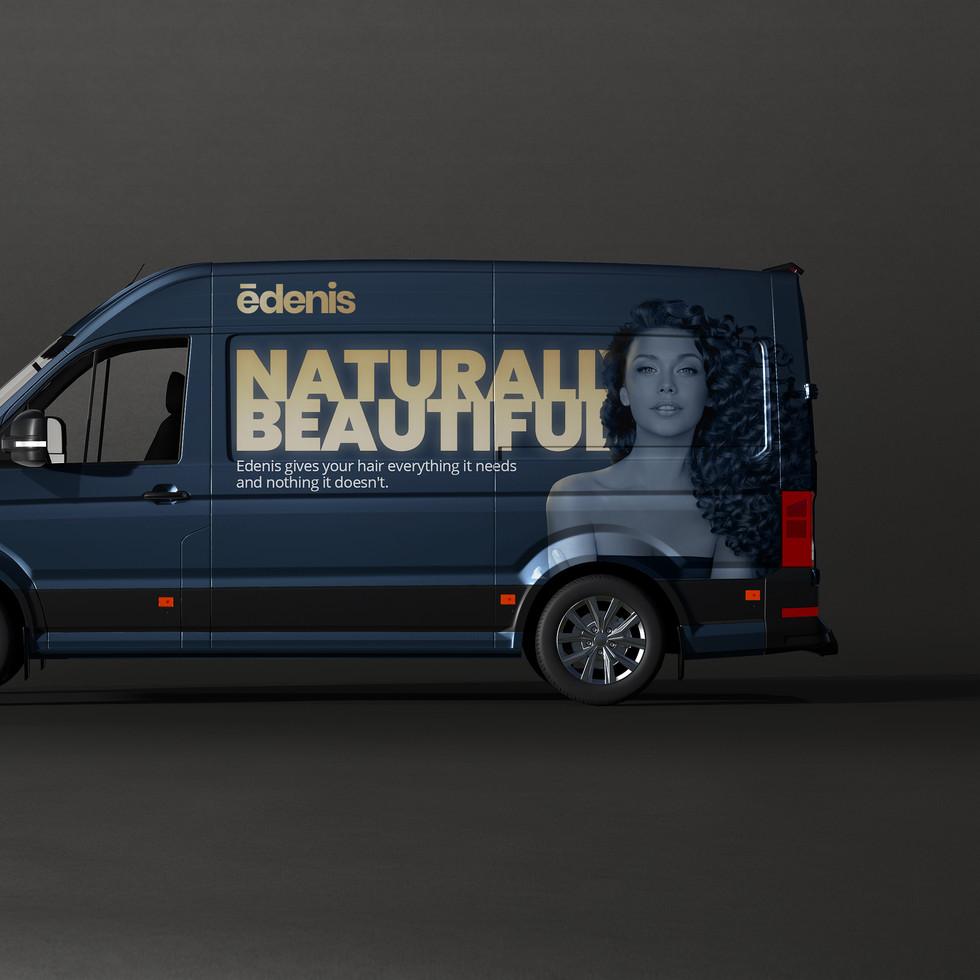 Vinyl Van Branding