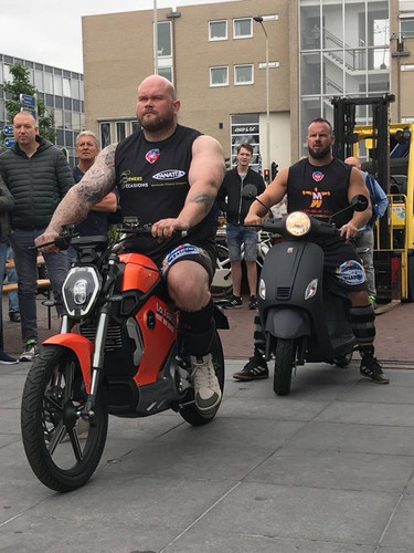 Holland- Strongest Man Challenge
