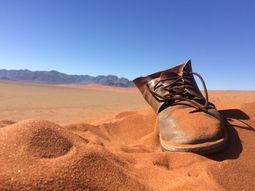 Boot in Sand