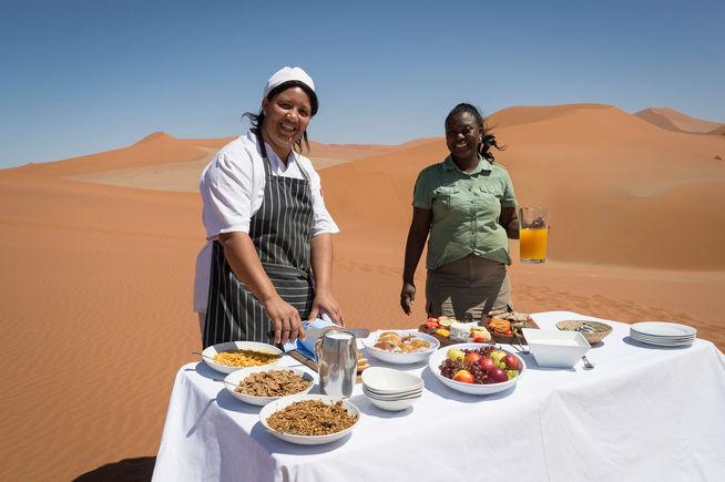 Namibian Breakfast
