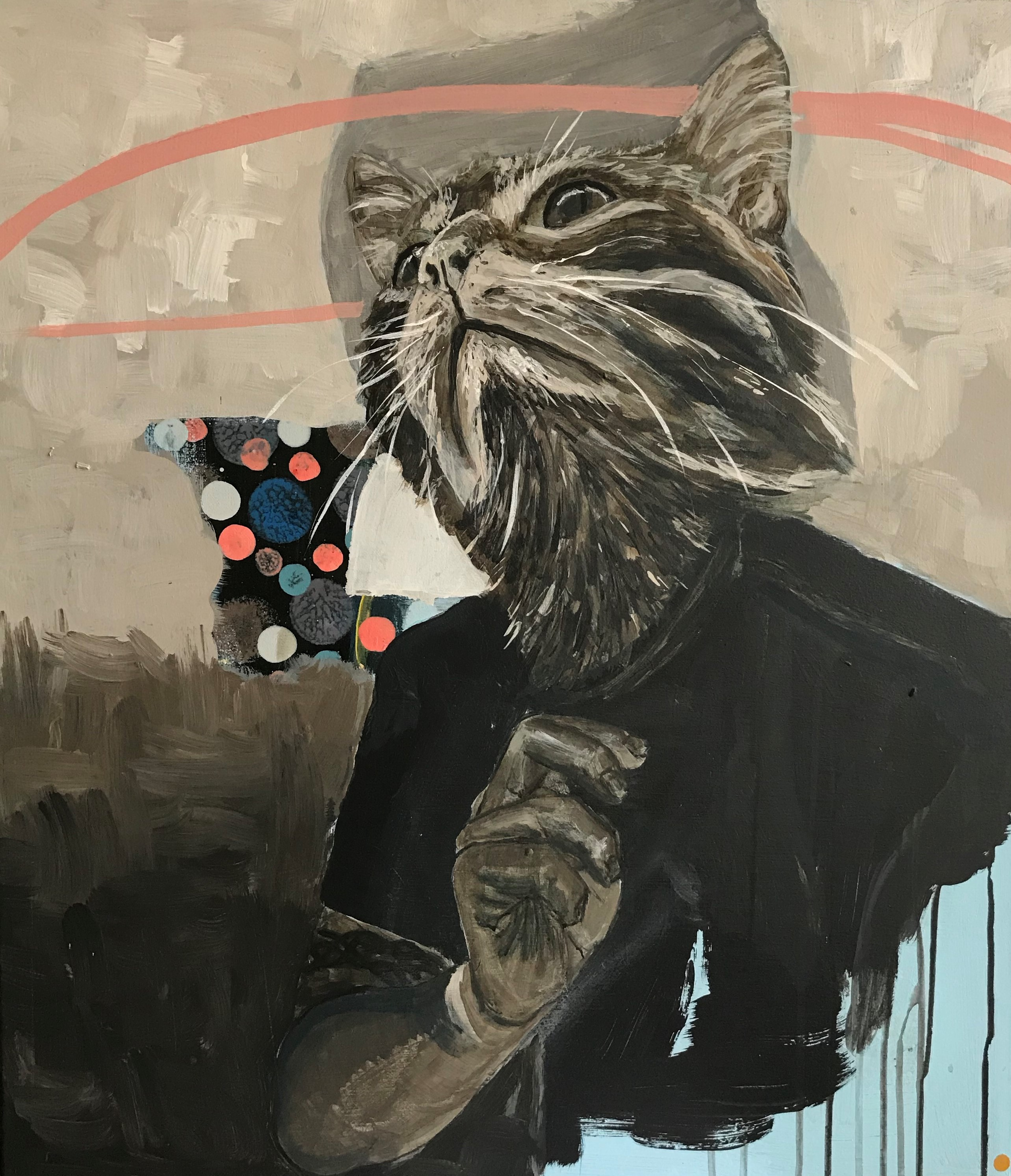 There is no finer cat that I'm 50x70