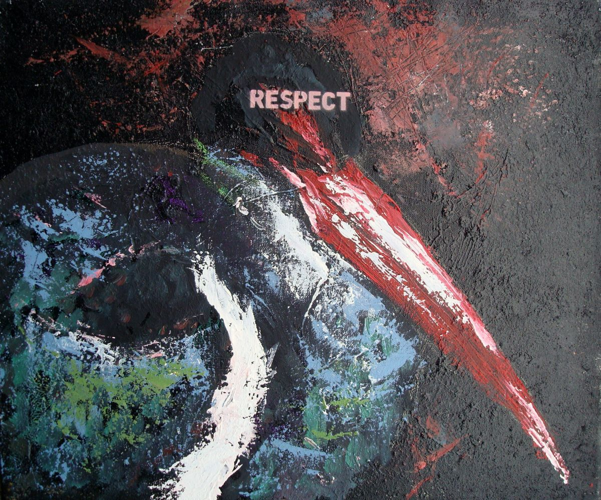 Respect 55x47cm