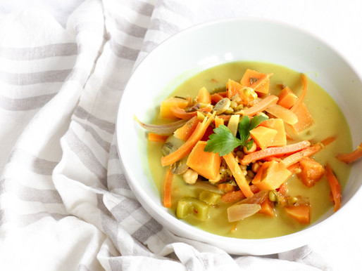 Mixed Veggie Dhal Soup
