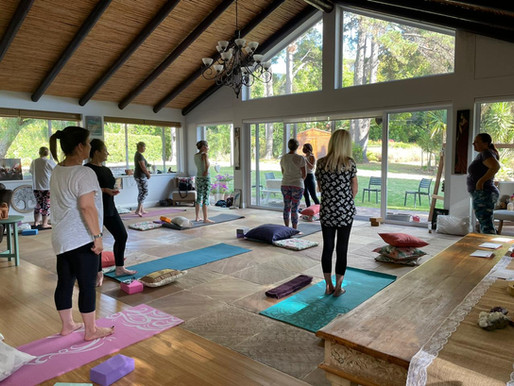 How COVID-19 has affected the way that I'm teaching yoga