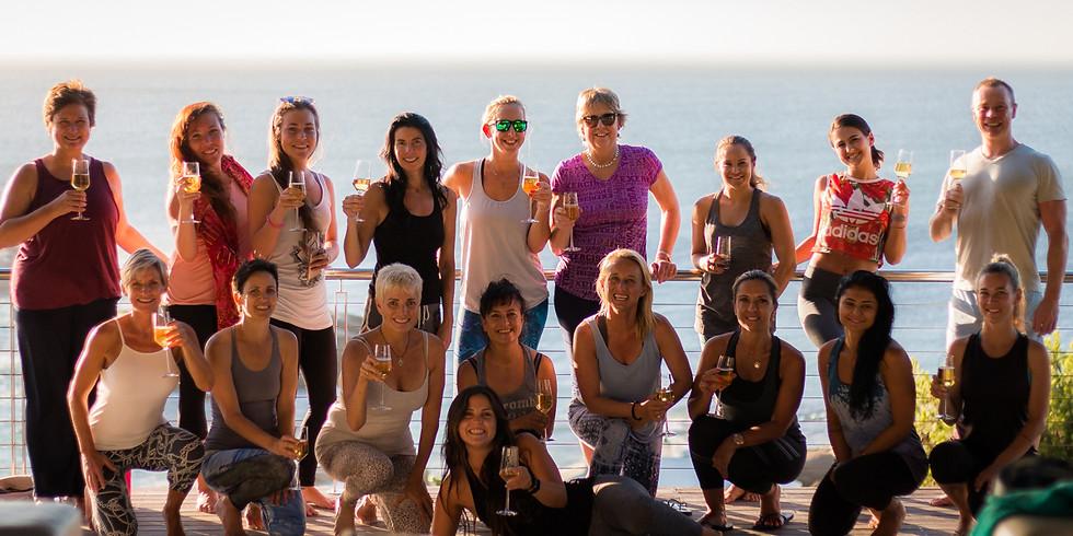 Beginner Sunset Yoga, Champagne & Canapés