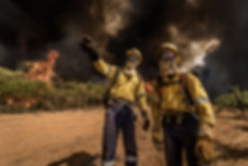 Simonsberg Fire Cape Town Wildfire Sullivan Photography