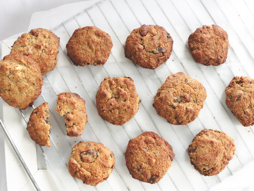 GuiltFree Chocolate Chip Cookies